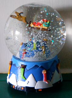RARE 1991 Neiman Marcus Snow Globe by BridgetsCottage on Etsy