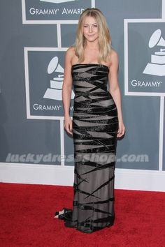 Julianne Hough Dress at 54th Annual GRAMMY Awards - Arrivals (MF6498)