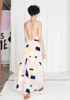 & Other Stories | Rachel Antonoff Halter Maxi Dress