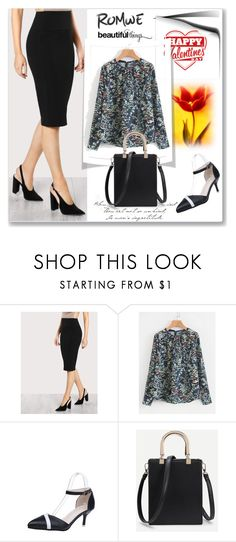 """""""ROMWE - 5"""" by thefashion007 ❤ liked on Polyvore"""