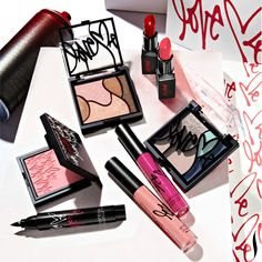NEW! Smashbox looked to the streets for beauty inspiration and worked with graffiti artist Curtis Kulig to create their limited-edition Love Me spring collection. #Sephora