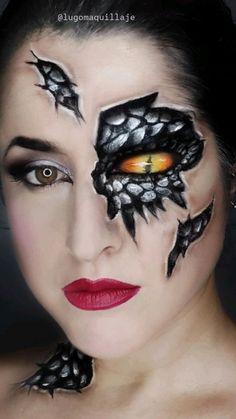 Horror Makeup, Scary Makeup, Sfx Makeup, Makeup Art, Haloween Makeup, Halloween Makeup Looks, Halloween Make Up Ideas, Face Paint Makeup, Full Face Makeup