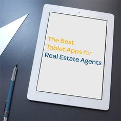 8 of the best tablet apps for real estate agents. I would add Evernote to this list. Templates for your first meeting to closing all in one place.