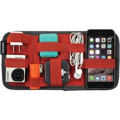 Picture of Cocoon 5.1334 X 10.2534 Gridit Organizer Red