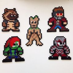 Guardians of the Galaxy perler