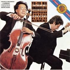 Beethoven Sonatas for Cello & Piano Volume 2: No. 3, Op. 69 & No. 5, Op. 102, No. 2 / Yo-Yo Ma and Emanuel Ax [CD]