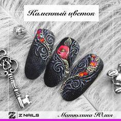 Любимый черный цвет😍 26 октября (уже завтра) на Интершарме с 12:00-13:00 буду показывать, как создаются такие интересные дизайны😊 Присоединяйтесь 😘 💥Стенд Е12 проект @educanta Slippers, Gucci, Flats, Oval Shape, Shoes, Almond, Instagram, Nails, Loafers & Slip Ons