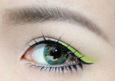 NEO Lucky Clover Green Colour Circle Lens - EyeCandy's