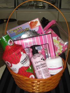 Special Mothers Day Gifts in a Basket Box or Bags