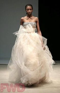 This Wedding Dress Could Knock Someone Out
