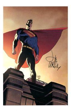 Superman by Lee Weeks