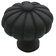 Baldwin 4458 Melon 1-3/16 Inch Diameter Mushroom Cabinet Knob from the Estate Co