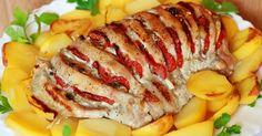 Mikor valami nagyon ízletes étellel lepnéd meg a családot, próbáld ki ezt a finomságot! Mi tepsiben sült burgonyát szoktunk mellé készíteni. A bacon és a hagyma mellett tehetsz bele paradicsom, cukkini, vagy más zöldségszeleteket is, amit szeret a család. Hozzávalók: 750 g sertéshús 6 evőkanál paradicsomlé 2 evőkanál mustár 100 g hagyma 100 g gomba...Olvasd tovább