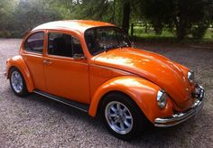 1976 Volkswagon Beetle - I had an orange 1973 Super Beetle - wish I'd kept it.