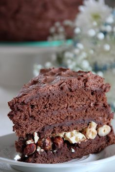 tort ferrero roshe Russian Cakes, Russian Desserts, Russian Recipes, Hungarian Cake, Sweet Cakes, How Sweet Eats, Food To Make, Sweet Tooth, Sweets