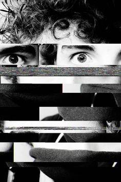 """Glitched Portrait "" by Liam Coward, via 500px."
