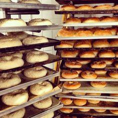 Bagels and burgers @ilpaninotondobakery