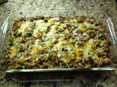 Qunioa Taco Bake Casserole - 21 Day Fix Recipe