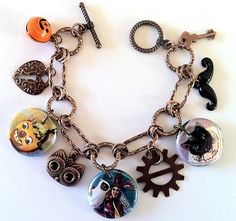 the vintage halloween store creepy costumesaccessories bedazzling jewelry halloween charm bracelets pinterest creepy costumes vintage halloween