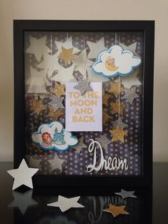 Love you to the Moon and Back Shadow Box  Sweet by RHCollection, $45.00