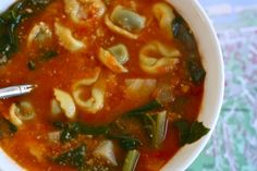 Tortellini & Heirloom Bean Soup