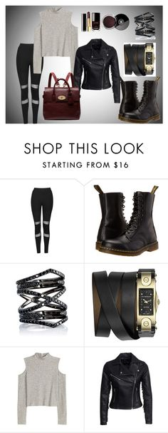 """""""Topshop mesh outfit"""" by dashapavlovskaya on Polyvore featuring мода, Topshop, Dr. Martens, Eva Fehren, Givenchy, Chanel, New Look, Mulberry, women's clothing и women"""