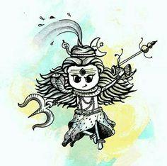 Drawing _lord shiva Cute one Lord Shiva Painting, Ganesha Painting, Ganesha Art, Madhubani Painting, Shiva Art, Hindu Art, Shiva Shakti, Doodle Art Drawing, Buddha Drawing