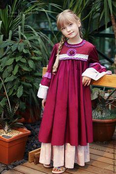 Одежда для девочек, ручной работы. Ярмарка Мастеров - ручная работа. Купить Платье нарядное для девочки. Handmade.…