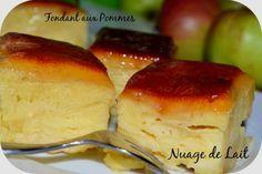 """Dans le même registre que la recette postée hier """"Beignets à la Ricotta"""" c'est à dire le registre des recettes réconfortantes voici un fondant aux pommes ultra fondant qui me fait d'ailleurs penser au Gâteau Invisible de Eryn mais sans les poires ;-)..."""