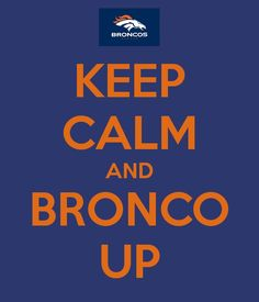 Broncos Football Baby!!!