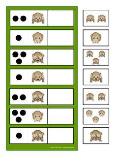 By Autismespektrum. Visual Motor Activities, Kindergarten Math Activities, Preschool Classroom, Learning Activities, Activities For Kids, Kids Class, Math For Kids, Toddler Worksheets, Teaching Numbers