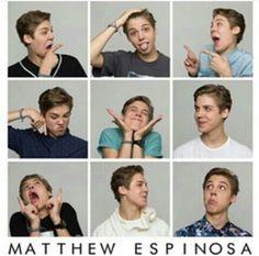 The Many Faces of Matthew Espinosa.