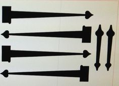 Items similar to Garage Door Vinyl Strap Hinges on Etsy Garage Door Design, Garage Doors, Strap Hinges, Project Ideas, Projects, Garage Ideas, Humble Abode, Outdoor Ideas, Curb Appeal