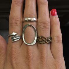 Brandy Melville Rings (Four)