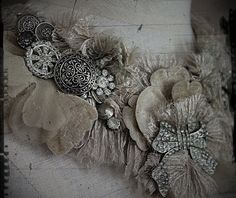 Art and Adornment by Carla S. Jewelry Art, Vintage Jewelry, Jewellery Box, Ruff Collar, Magnolia Pearl, Bib Necklaces, Lace Ribbon, Vintage Textiles, Vintage Love
