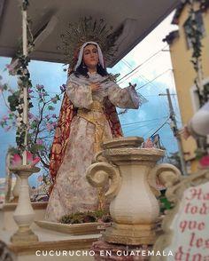 """""""Una espada de atravesará el Corazón """" Virgen de Dolores Infantil  Catedral de Huehuetenango  #Cucuruchoenguatemala"""