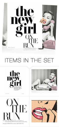 """the new girl"" by afashionpage ❤ liked on Polyvore featuring art"