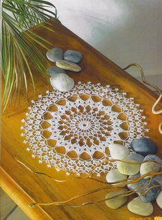 Yandex.Disk Crochet Tablecloth, Crochet Doilies, Crochet Lace, Pineapple Crochet, Crochet Magazine, Views Album, Needlepoint, Dream Catcher, Crochet Patterns