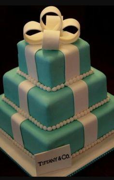 That Tiffany Blue Cake