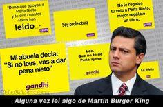 Peña Nieto, Gandhi, Elecciones 2012
