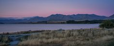 """Lake Tekapo - Trying to get a decent shot of """"The Good Shepard"""" at this hour was impossible with the amount of people, so I found this view instead. Beautiful evening, wish I lived in this country for just purely my photography."""
