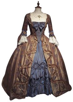 Movie costumes! This is just ONE of the fabulous ones from Dangerous Liaisons.