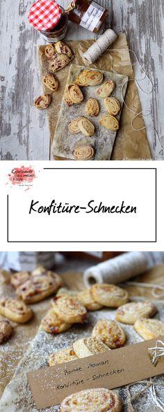 Konfitüre-Schnecken | |  Weihnachtsbäckerei | Rezept | Backen | Plätzchen