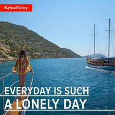Sometimes being alone with just the wind and sea at your back is everything you need in a holiday! #LyricalTurkey