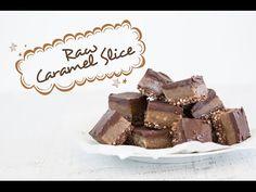 Naughty But Nice: Raw Caramel Slice | FOOD MATTERS®