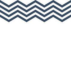 Chevron Lines Rubber Stamp