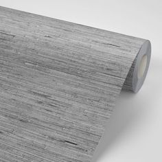 Zinc Grasscloth Peel and Stick Wallpaper - 8.5x11 sample / Canvas