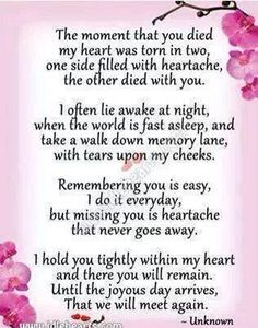 It Has Only Been Days X Missing Mom In Heaven