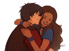 Prince Zuko and Katara's romantic cuddling embrace from Avatar The Last Airbender Avatar Aang, Avatar The Last Airbender, Avatar Funny, Fnaf, Fanfiction, Zuko And Katara, Prince Zuko, Avatar Series, Team Avatar