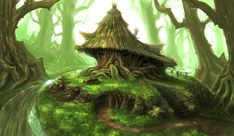 Beautiful Tree House fantasy fairy tale images pictures HD photos | PIXHOME